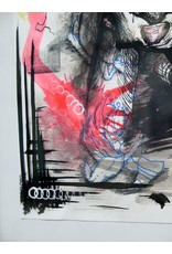 JJ McLuckie Collar, ink, by JJ McLuckie