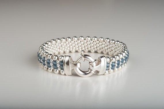 Dovera Designs Denim Bracelet