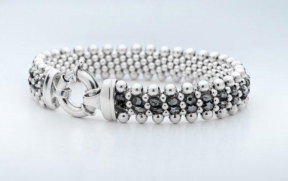 Dovera Designs Silver Night Bracelet