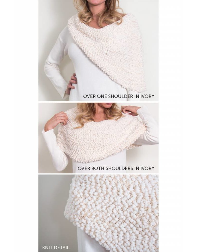 Noelle Shoulder Wrap Sweater