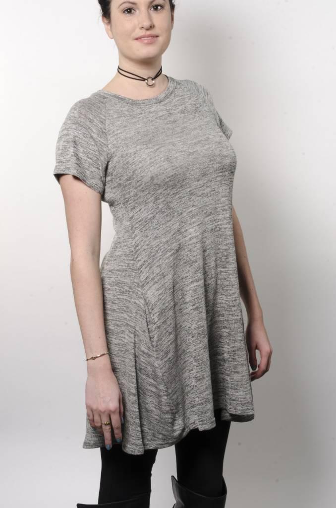 Angie Gray Knit Dress