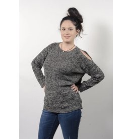 Nostalgia Open Shoulder Sweater