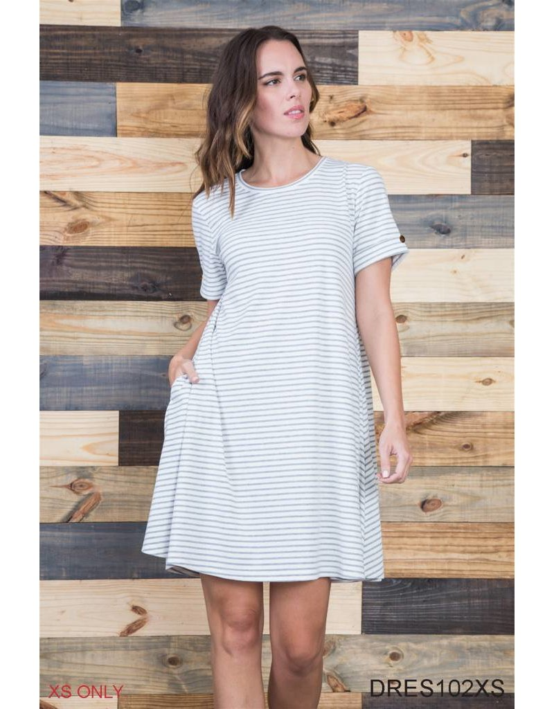 Noelle Striped Dress