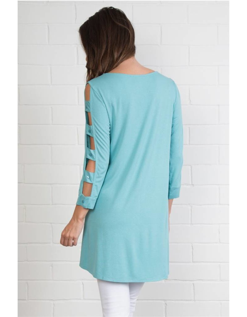 Noelle Cut Out Sleeve
