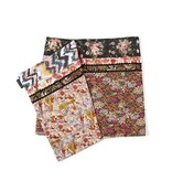 Coco + Carmen Wrap/Reversible Print Skirt