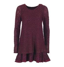 Coco + Carmen Long Sleeve Lace Tunic