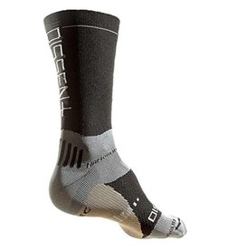 "Dissent Dissent, Supercrew Nano 8"" + Copper, Compression socks, Black, L"