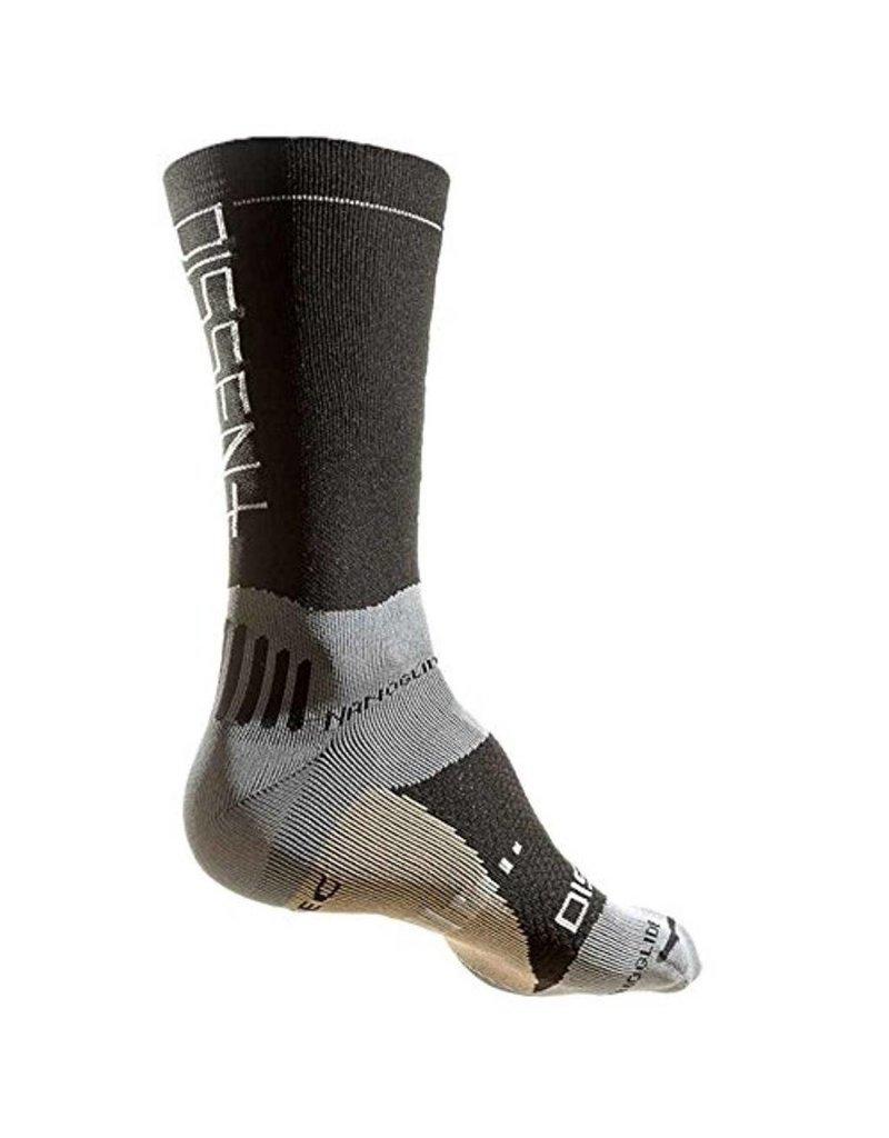 "Dissent Dissent, Supercrew Nano 8"" + Copper, Compression socks, Black, L"