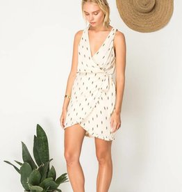 Bird & Kite Wrap Me Up Mini Dress