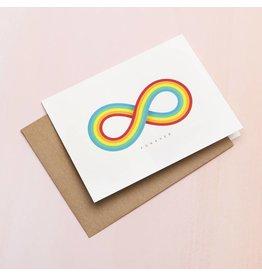 Card Infinite Rainbow Card
