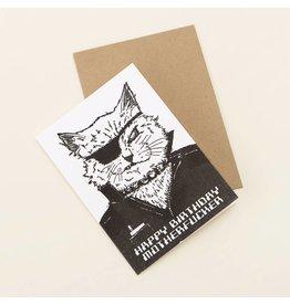 Card Happy Birthday Mofo