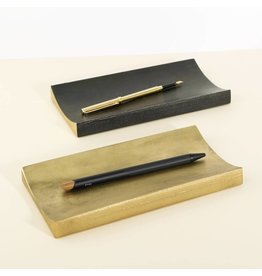 Brass Curve Pen Tray