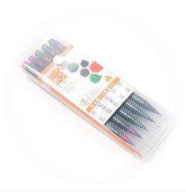 Winter Palette Brush Pen Set