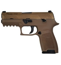 Sigsauer Sig Sauer P320 Compact 9mm 2-15rd w/ Night Sights and Holster FDE Pistol