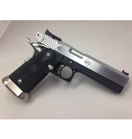 "STI STI Legend 1911 5"" Bull Chrome Bi-Tone 9mm 1-15rd Altered"