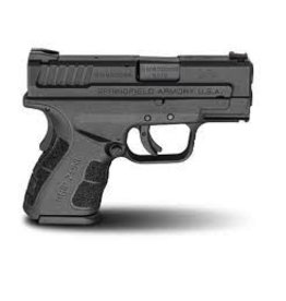 "SPRINGFIELD Springfield Armory XD 3"" SubCompact Mod2 9MM 10RD"