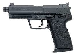 """H&K H&K USP-T 45ACP 5.09"""" V1 12RD"""
