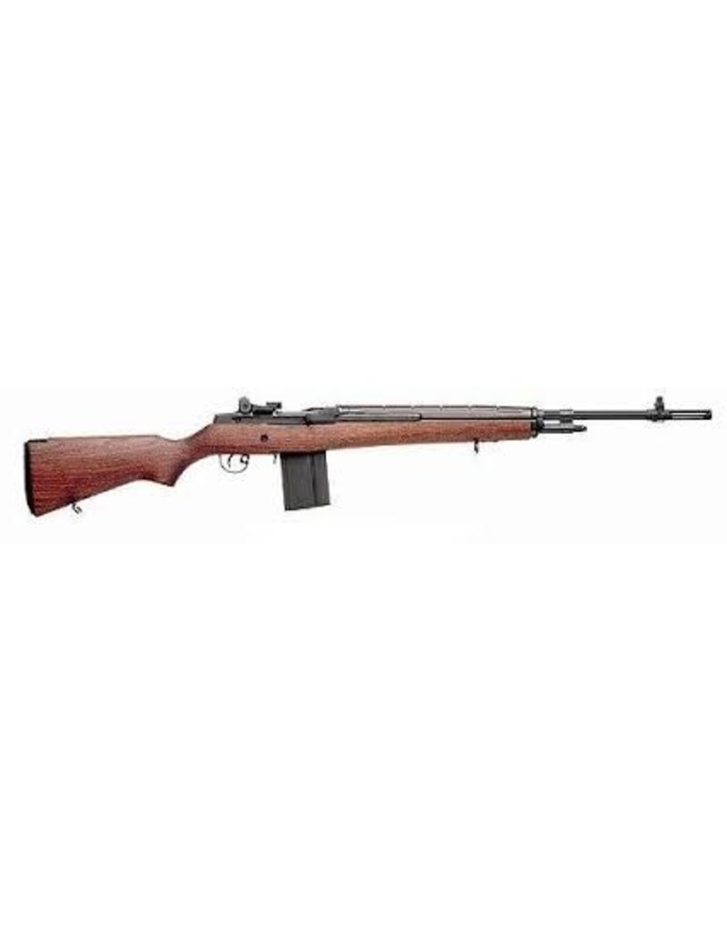 SPRINGFIELD SAI Loaded M1A 7.62mm NATO 22 Inch Carbon Barrel Blue Finish Walnut Stock 10 Round