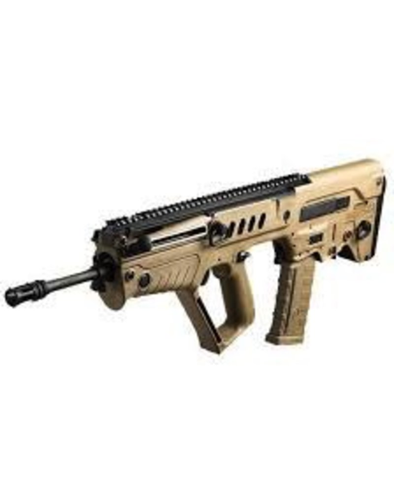 IWI USA INC. IWI Tavor SAR-B16 NJ Compliant 5.56 Nato 18in FDE Rifle