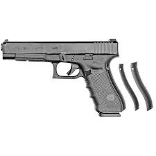 Glock Glock G34 Gen4 9mm FS 15rd Blue Label Altered $40.00 Mag. Compliance Fee inc.
