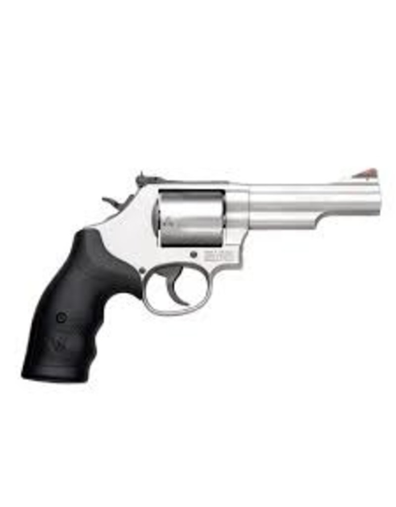 """Smith & Wesson Smith & Wesson Model 69 44mag 4.25"""" SS 5rd Adjustable Sights"""
