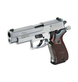 "Sigsauer Sig Sauer P220 Stainless Elite 45acp 4.4"" w/ Night Sights 2-8rd"