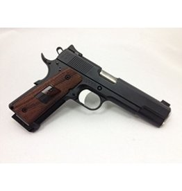 Nighthawk Nighthawk Custom 1911 Heinie Tactical Carry 45acp 2-8rd Black Magwell Checkered Front Strap