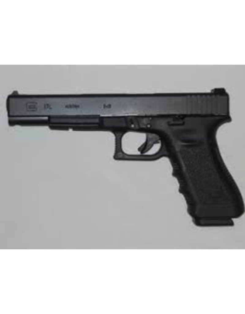 "Glock Glock G17L 9mm 6"" Blue Label 3-15rd Altered"