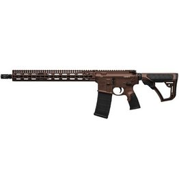 "Daniel Defense Daniel Defense DDM4 v11 Carbine 5.56 NATO 16"" KeyMod System SLiM Rail Brown Cerakote 15rd Altered"
