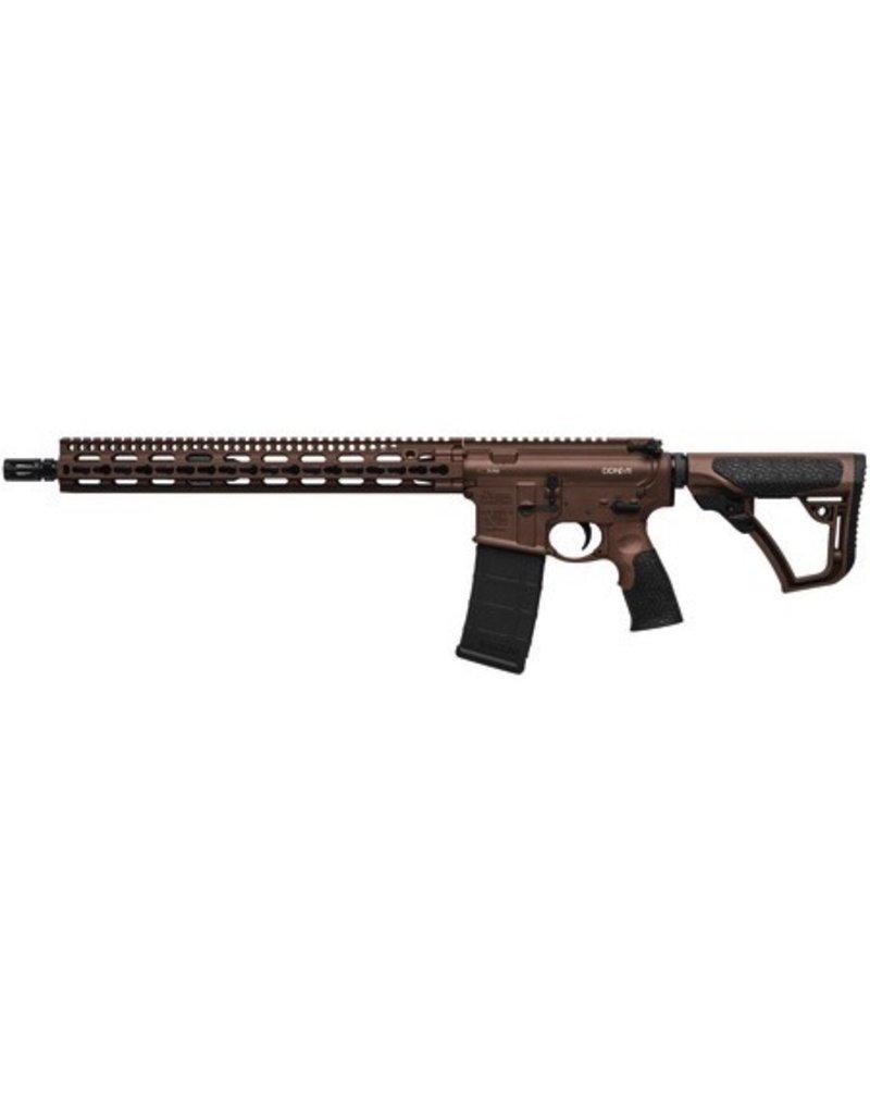 "Daniel Defense Daniel Defense DDM4 v11 Carbine 5.56 NATO 16"" KeyMod System SLiM Rail Brown Cerakote 15rd Altered"