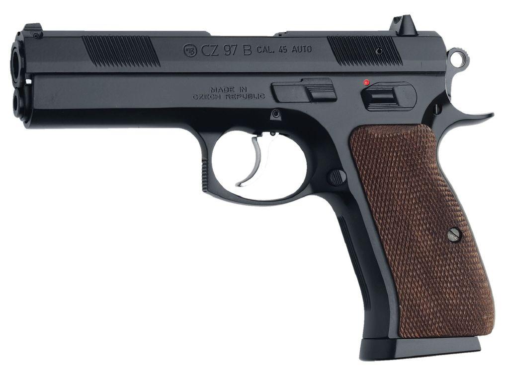 CZ CZ USA 97B 45acp Black w/Aluminum Grips 10RD