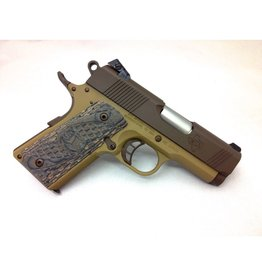 "STI STI Lawman 1911 3"" Bull Brown/Tan Bi-Tone 45acp 1-6rd NS"