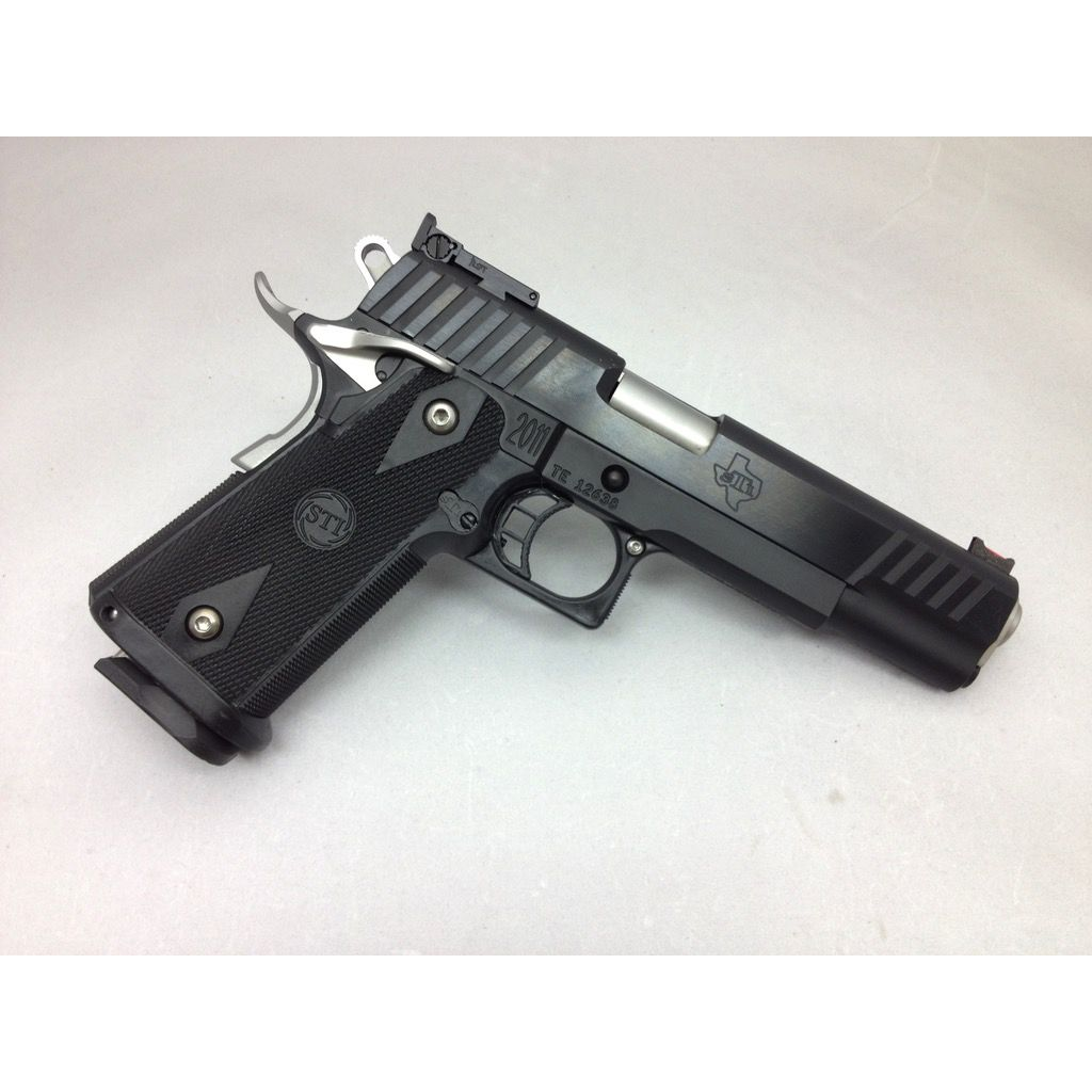 """STI STI Eagle 1911 5"""" Bushing Blued 45acp no mag"""