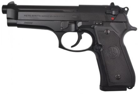 BERETTA Beretta 92FS 9mm Double/Single Action Bruniton Matte Black Finish Plastic Grips Three Dot Sights 10rd