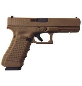 Glock Glock G17 Gen4 9mm 4.48‰Û 3-15rd Altered Full FDE