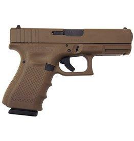 Glock Glock 19 Gen4 9mm 4.01‰Û Full FDE 3-15rd