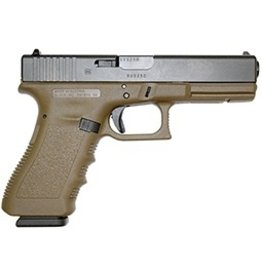 Glock Glock G17 9mm 4.48‰Û 2-15rd Altered FDE
