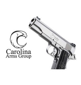 "Carolina Arms Group Carolina Arms Group 1911 Trenton Classic Bi-Tone 45acp 5"" Warren Sights Kart NM Barrel VZ Grips 2-8rd"