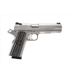 "Carolina Arms Group Carolina Arms Group 1911 Trenton Executive Stainless 45acp 5"" Warren Sights Kart NM Barrel VZ Grips 2-8rd"