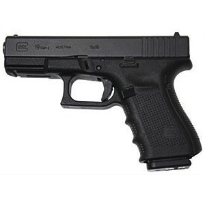 "Glock Glock G19 Gen4 9mm 4.01"" 3-15rd Blue Label"