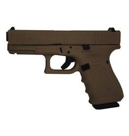 Glock Glock G19 Gen4 9mm USA Magpul Dark Earth Cerakote 3-15rd