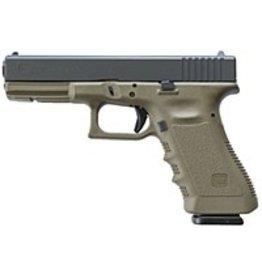 """GLOCK Glock G19 Gen4 9mm 4.01"""" 3-15rd Battlefield Green"""