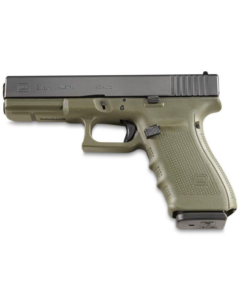 Glock Glock G21 Gen4 45acp 2-13rd Battlefield Green