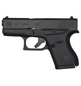 "GLOCK Glock G43 9mm 3.3"" 2-6rd Blue Label Pistol"
