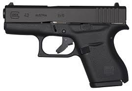 """GLOCK Glock G43 9mm 3.3"""" 2-6rd Blue Label Pistol"""