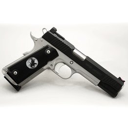 Nighthawk Nighthawk Custom 1911 War Hawk 45acp 5‰Û Bi-Tone Fiber Optic 2-8rd Pistol