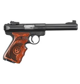"Ruger Ruger Mark III Target 22LR 5.5"" Laminate Grips Blued Finish 2-10rd"