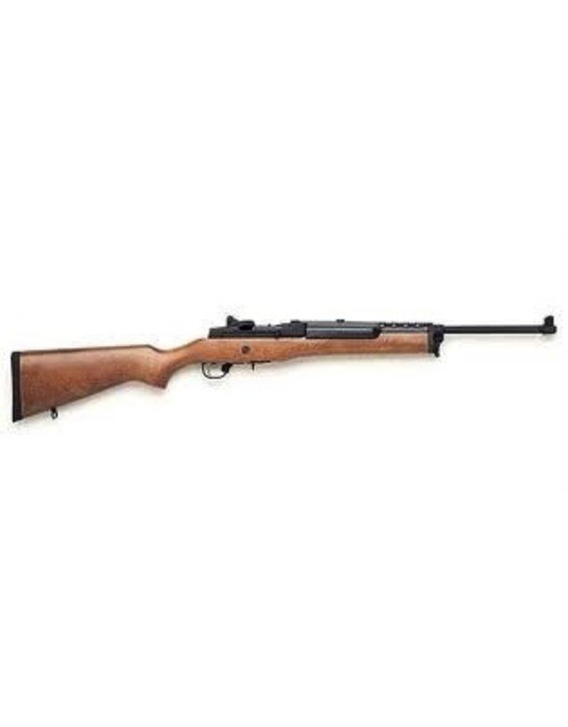 Ruger Ruger Mini-14 Ranch Rifle 223 Rem 18.5 Inch Blue Finish Hardwood Stock 5rd