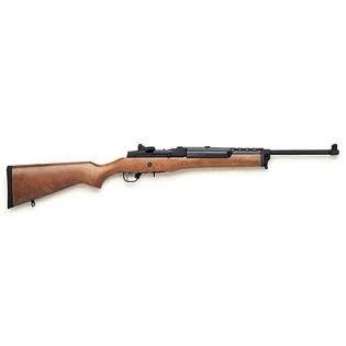 Ruger Ruger Mini-14 Ranch Rifle 5.56 NATO 18.5 Inch Blue Finish Hardwood Stock 5rd