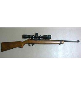 Ruger Ruger 10/22 .22LR Wood Stock Bushnell Scope 1-10rd USED NO CASE